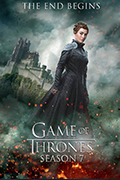 Game of Thrones Season 1 to 7 Book Cover